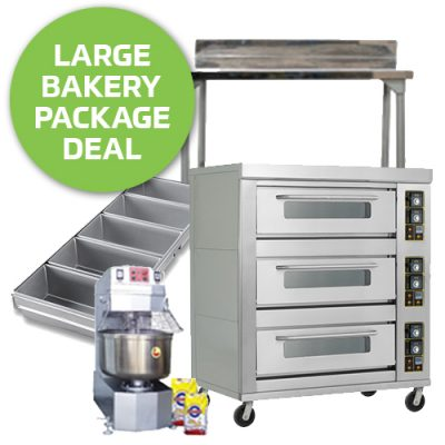 Large Bakery Startup Equipment