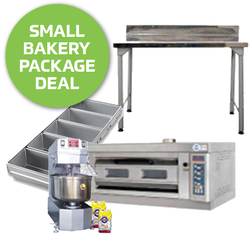 Small Bakery Startup Package Equipment Giants