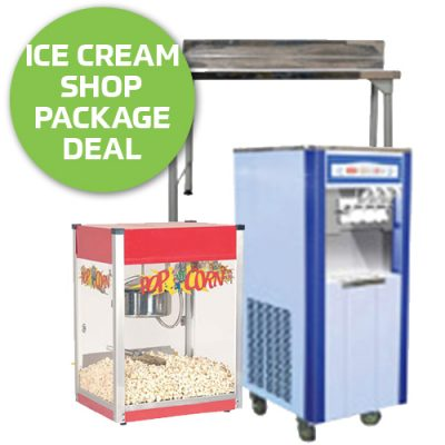 Ice Cream Shop Startup Equipment