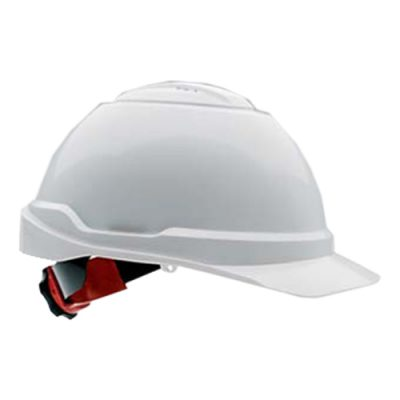 Hard Hat with Chin Strap & Air Vents