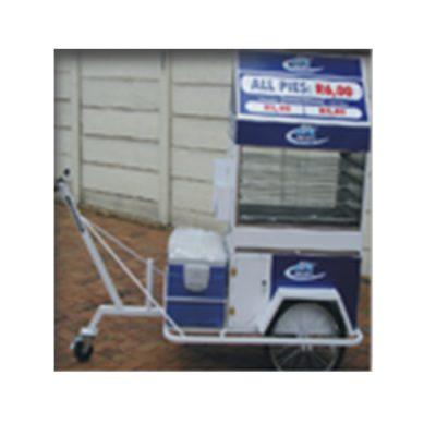 Push Cart Gas Pie Warmer