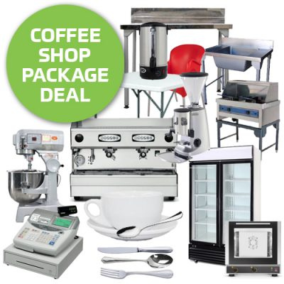 Coffee shop equipment package deal