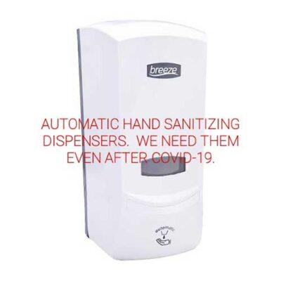 Non-contact hand sanitiser dispenser